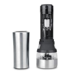 Pepper <font><b>Grinder</b></font> 2 in 1 <font><b>Stainless