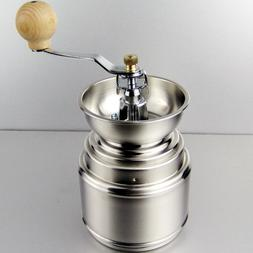Portable Stainless Steel Hand Manual Coffee <font><b>Grinder