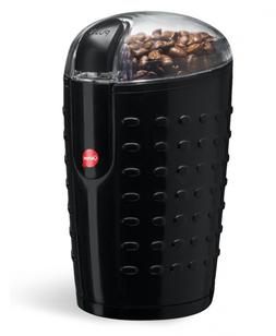 Quiseen One-Touch Electric Coffee Grinder. Grinds Beans, Spi
