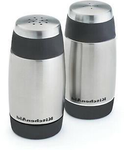 KitchenAid Salt and Pepper Shakers, Black