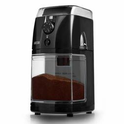scg 903b automatic electric burr coffee grinder