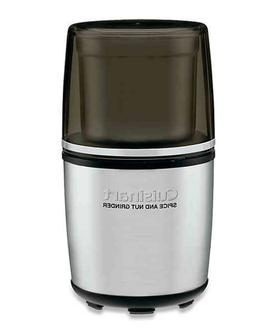 Cuisinart SG-10 Electric Spice and Nut Grinder - Silver