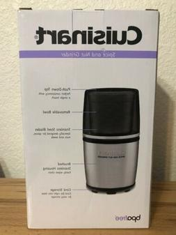 Cuisinart SG-10 Electric Spice and Nut Grinder Brand New