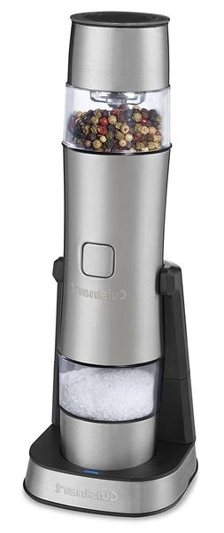 Cuisinart SG-3 Stainless Steel Rechargeable Salt, Pepper and