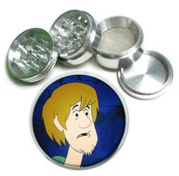 Shaggy Scooby Doo 4Pc Aluminum Tobacco Spice Herb Grinder