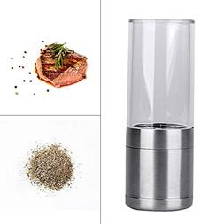 Spice Grinder, Pepper Grinder With Case Stainless Steel Manu
