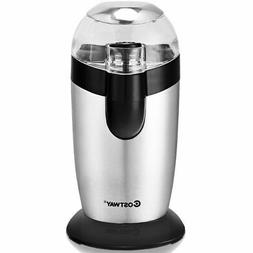 Stainless Steel Coffee &Spice Grinder Electric One-Touch Bla