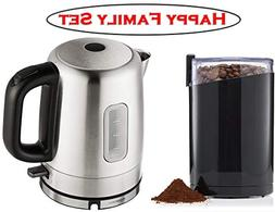Happy Family Set ❤ Stainless Steel Electric Kettle and