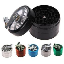 US Tobacco Herb Spice Grinder 4 Layers Herbal Alloy Smoke Me
